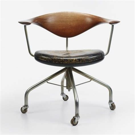 17 Best Images About Kontorstol On Pinterest Ea Chairs Hans Wegner Swivel Chair