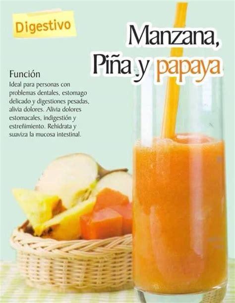 Papaya Juice Detox by Batidos Y Jugos Con Distintas Propiedades Drinks
