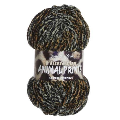 leopard pattern yarn james c brett flutterby animal prints yarn 04 tiger at