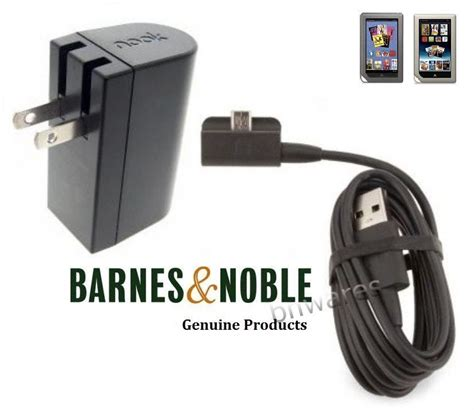 nook color charger new genuine barnes noble nook color tablet power