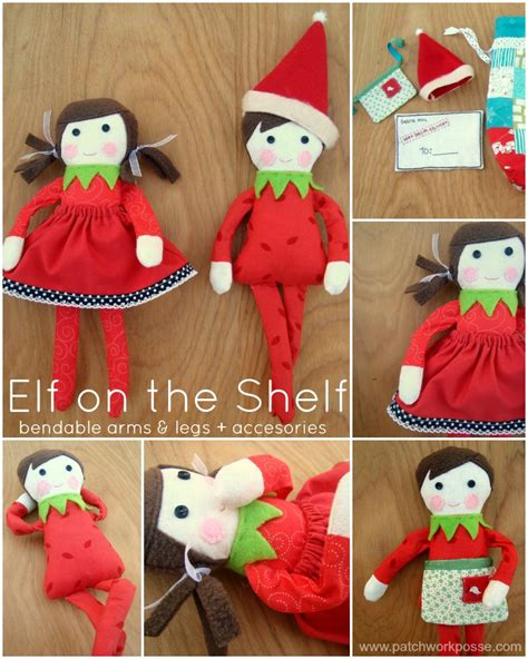 Make A On The Shelf by Free On The Shelf Doll Pattern