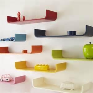 tessera curved wall shelf