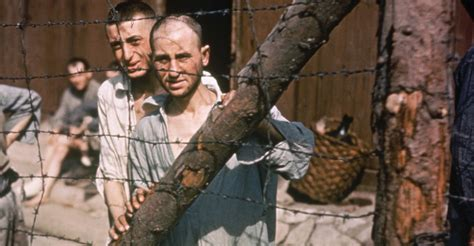 Prisoners At Buchenwald Concentration Camp 2 Holocaust