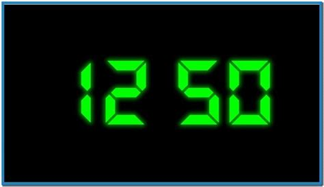 clock themes windows windows 7 digital clock screensaver download free