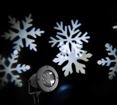 versonel led snowflake outdoor projection laser light