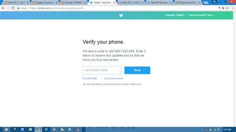 membuat akun twitter jadi verified uperp10t01d membuat akun twitter dan follow belajarerp
