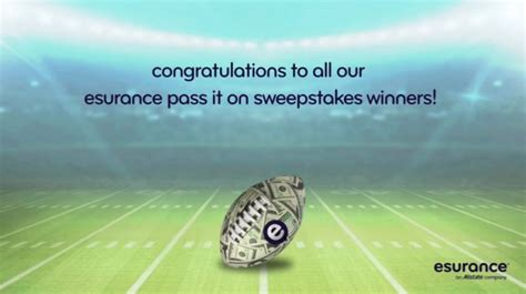 Esurance Sweepstakes - these are the reactions of the esurance pass it on sweepstakes winners winzily