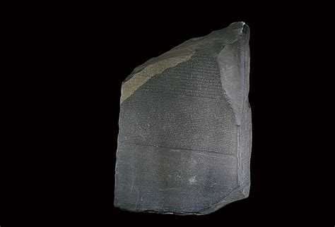 rosetta stone object the british museum creates 3d models of the rosetta stone