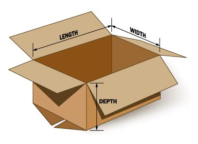 how to measure a box length width depth gallery