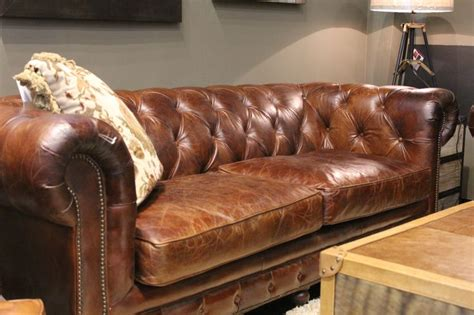 chesterfield sofa houston chesterfield style sofa all things leather pinterest