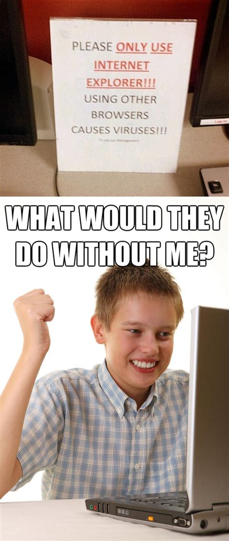 First Day On Internet Kid Meme - image 523550 first day on the internet kid know