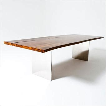 skagen dining table suar wood with stainless base scan