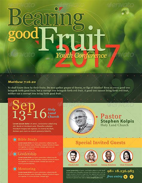 best photos of free church flyer design templates free best harvest and thanksgiving flyer templates