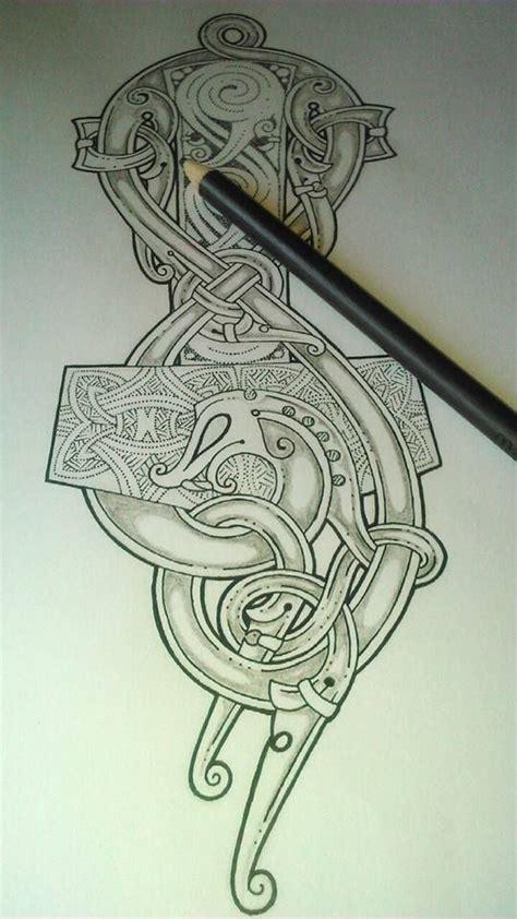 mjollnir tattoo pinteres