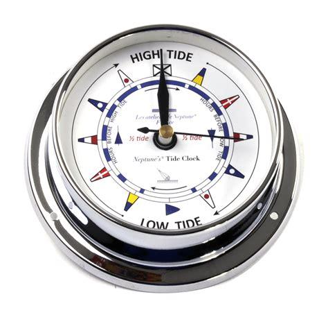 printable tide clock dial classic chromed flag dial tide clock 115mm neptune s