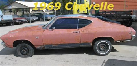 1969 Chevrolet Chevelle Ss396 Frame Off We Build To Your