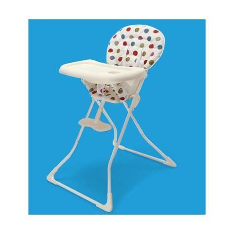 chaise haute bébé pliable chaise haute b 233 b 233 pliable 224 pois
