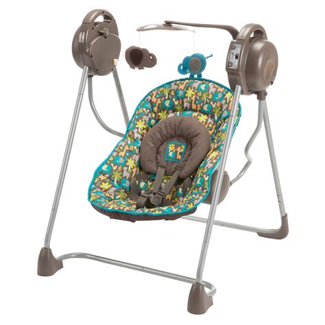 infant travel swing cosco sway n play swing wild things