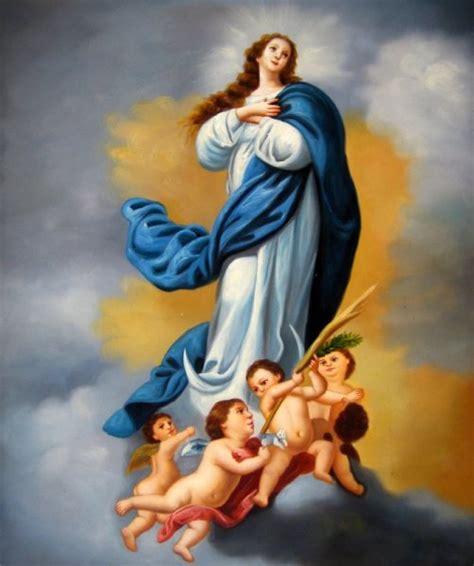 imagenes virgen maría inmaculada hoy es d 237 a de la inmaculada concepci 243 n de la sant 237 sima