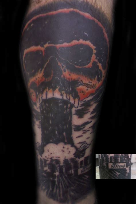 mushroom cloud tattoo cloud by synthetic syn on deviantart