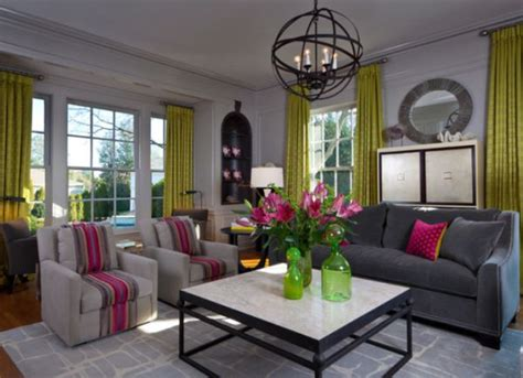 pink accessories for living room decorate a modern living room with colorful accessories