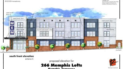 Retail Apartment Plans 266 Lofts Density Variance Request Granted