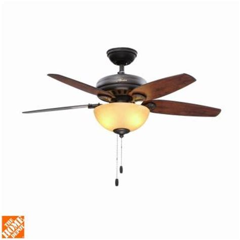 hunter stratford ceiling fan hunter stratford 44 in indoor new bronze ceiling fan