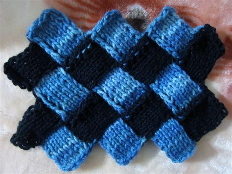 knitting tutorial image gallery entrelac knitting