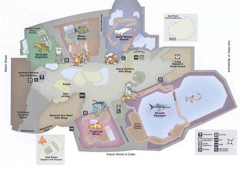 georgia aquarium floor plan feature article the georgia aquarium setting a new