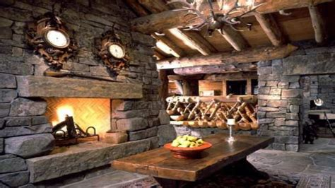 rustic fireplaces rustic stone fireplaces log cabin stone fireplace log