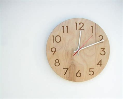 wooden clocks 34 wooden wall clocks to warm up your interior