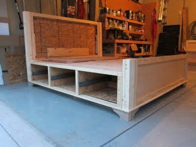 Build Your Own Bed Frame With Drawers Woodworking Build Your Own Bed Frame With Drawers