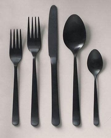 cool flatware black cutlery cool cool beans pinterest cutlery