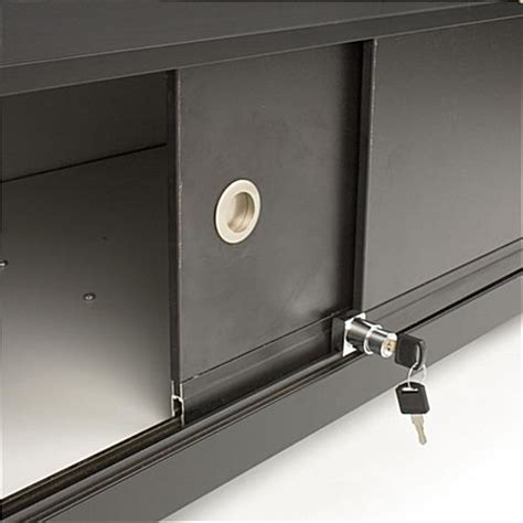 glass counter locking storage base w black lights