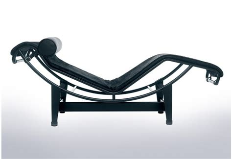 Chaise Kubrick by Gallery Of The Lc In Tubular Steel And Leather With Chaise