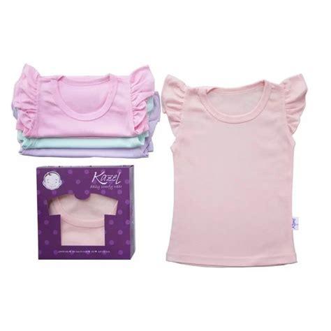 Kazel Ruffle Shirt Perempuan pakaian bayi perempuan terlengkap lazada co id
