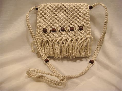 How To Make A Macrame Purse - pattern macramepurse