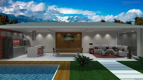 area casa varanda churrasqueira barbara borges projetos