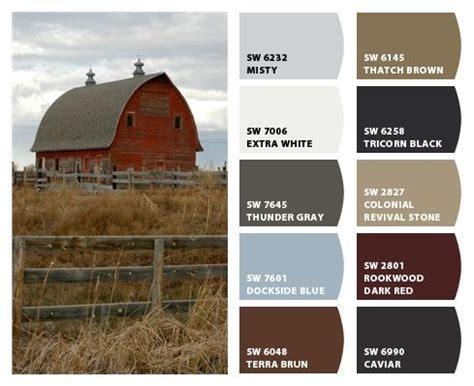 color farm historic farm color palette inspiration for exterior home