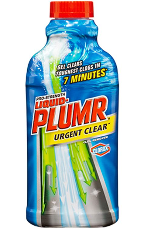 liquid plumr bathtub drain cleaners for kitchens bathrooms liquid plumr