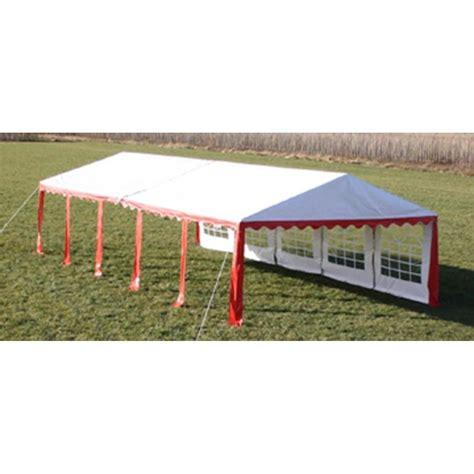 tetto gazebo tetto e pareti di gazebo da festa 10 x 5 m rosso bianco