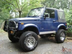Suzuki Samurai 4x4 Suzuki Samurai 4x4 1988 1988 5 Rust Free
