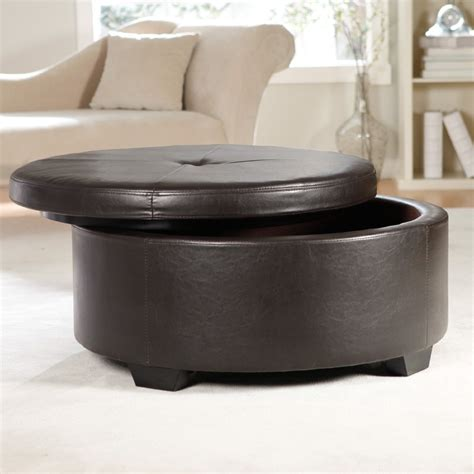 black round storage ottoman large leather ottoman large size of coffee oversized