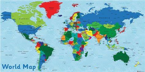 usa on world map world and uk maps