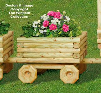 Landscape Timber Measurements Yard Projects Parts Kits Car Caboose Planter Kit
