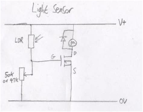 fet transistor explained sensor circuits with a mosfet all