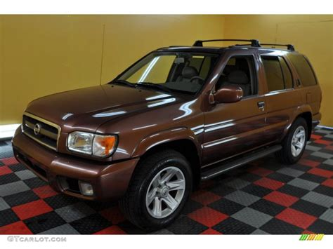 pathfinder nissan 2003 2003 burnt copper metallic nissan pathfinder le 4x4