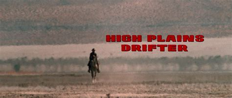 high plains drifter titanic daily grindhouse 31 flavors of horror high plains