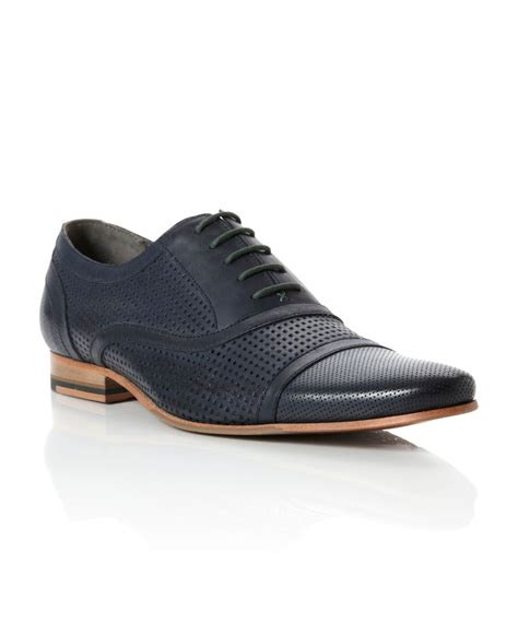 ted baker oxford shoes ted baker yersay peforated detail leather oxford shoes in