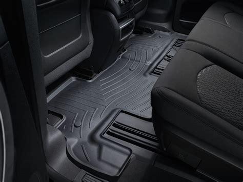 weathertech floor mats floorliner for gmc acadia limited 2017 2nd row ebay